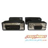 مبدل DVI نری به VGA مادگی