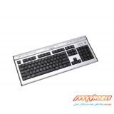کیبورد مالتی مدیا با سیم ای فورتک A4Tech KL-7MU Wired USB Multimedia Keyboard