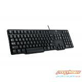 کیبورد با سیم لاجیتک Logitech K100 Classic Wired USB Keyboard