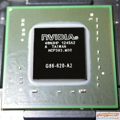 چیپست گرافیک لپ تاپ Nvidia G86-620-A2